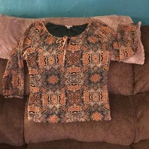 Croft And Barrow size Small blouse